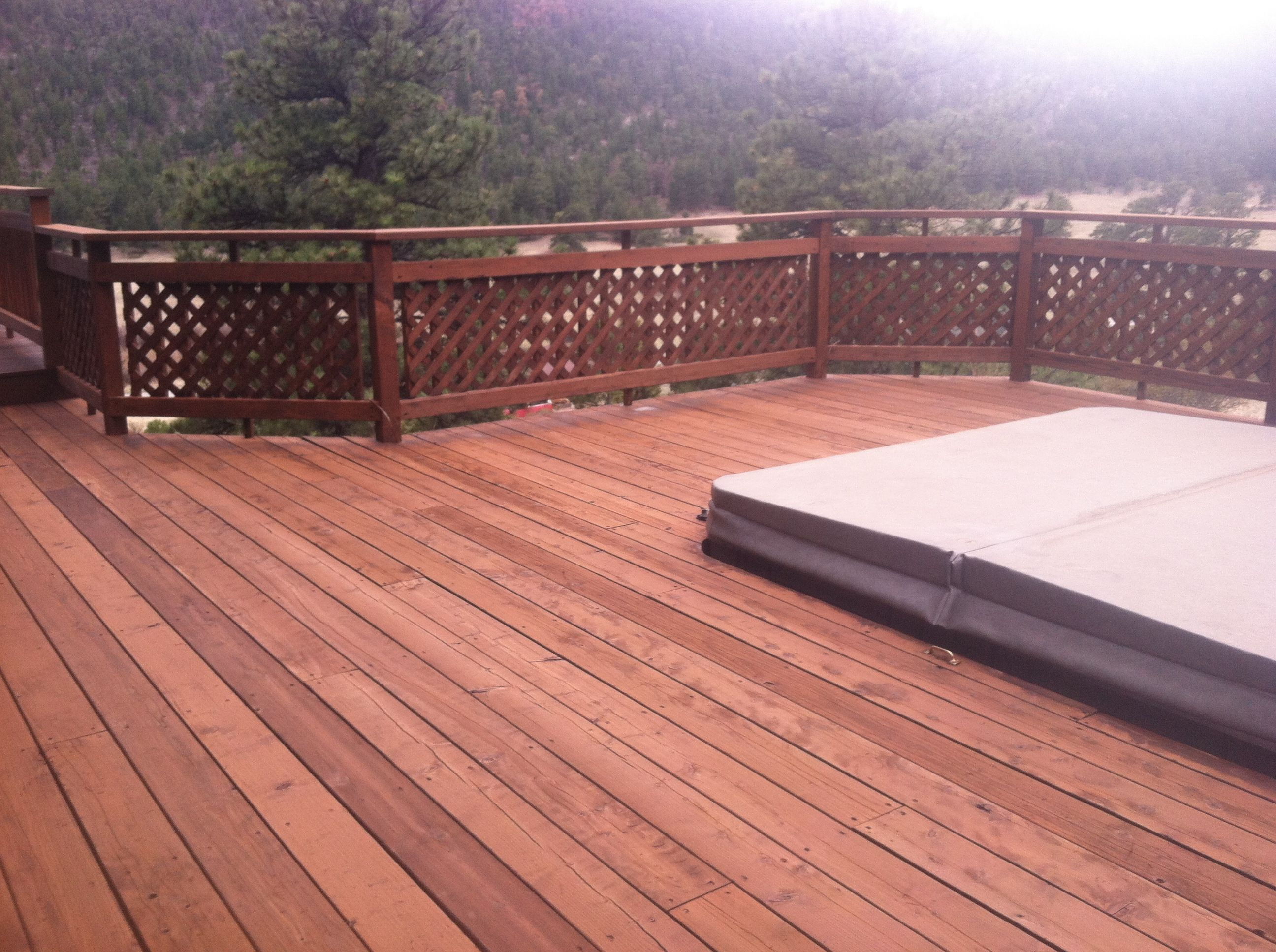 Cabot Deck Stain In Semi Solid New Redwood Staining Deck Deck Stain Colors Redwood Decking