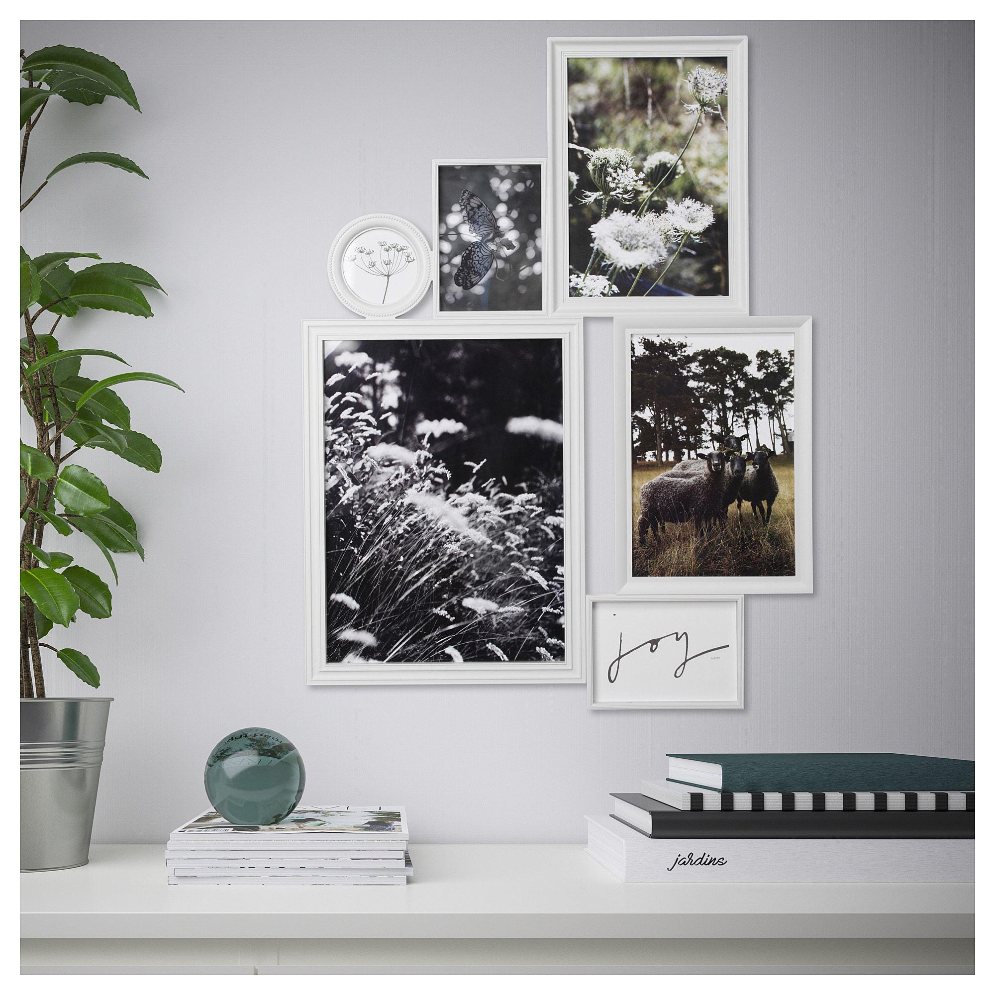 Vitaby Collage Frame For 6 Photos White Ikea Collage Frames Frame Wall Collage Ikea Picture Frame