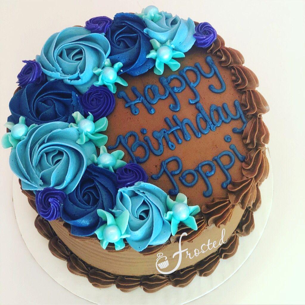 Online Cake Decorating Birthday Cake Chocolate Buttercream