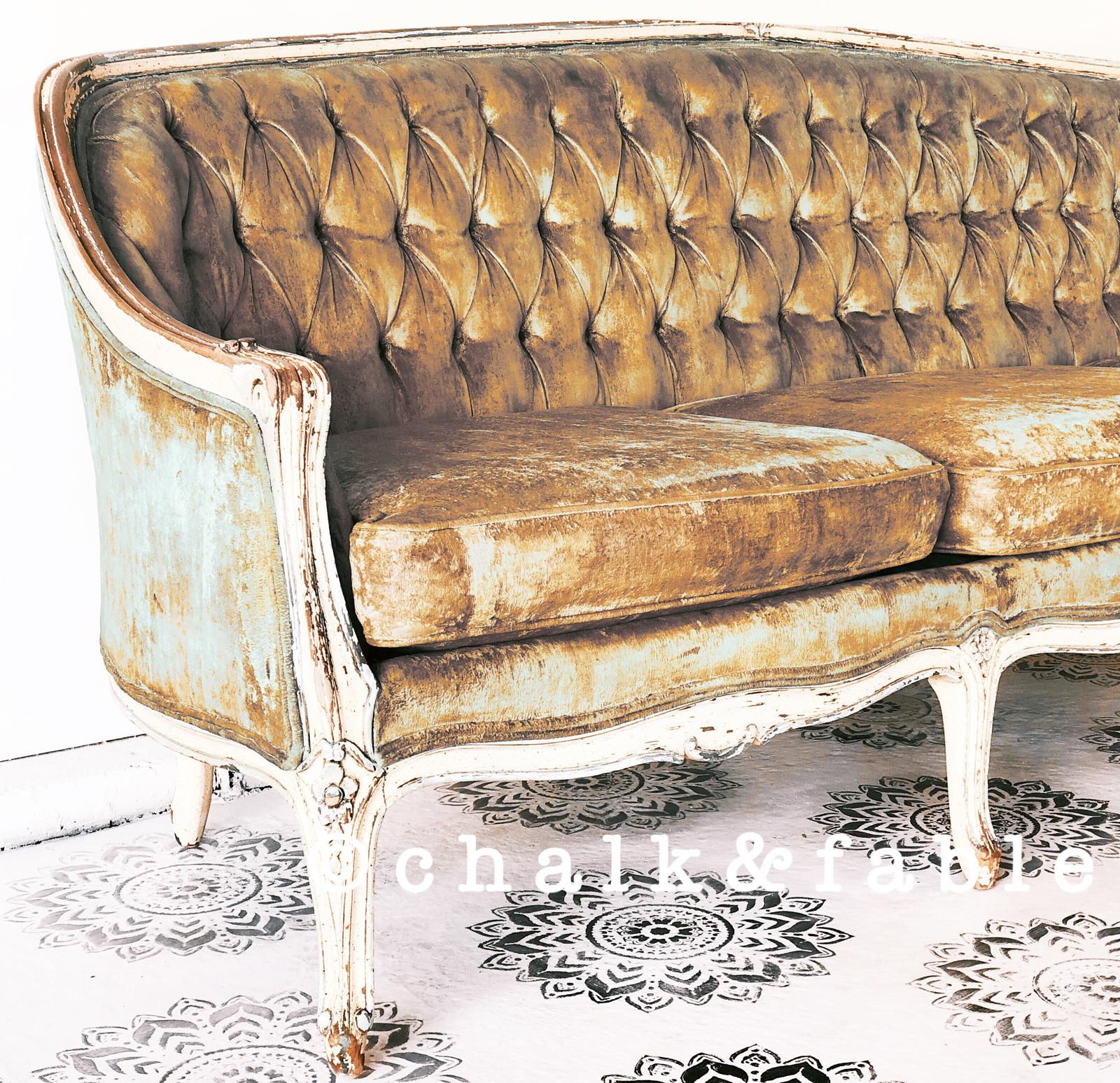 French Antique Sofa