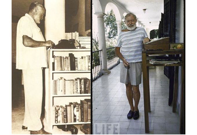 Ernest Hemingway Standing Desk Google Search