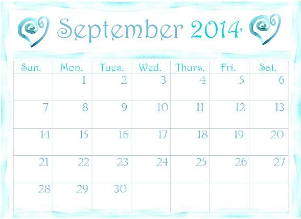 Get Inspired And Organized With These Free Printable 2014 Calendars