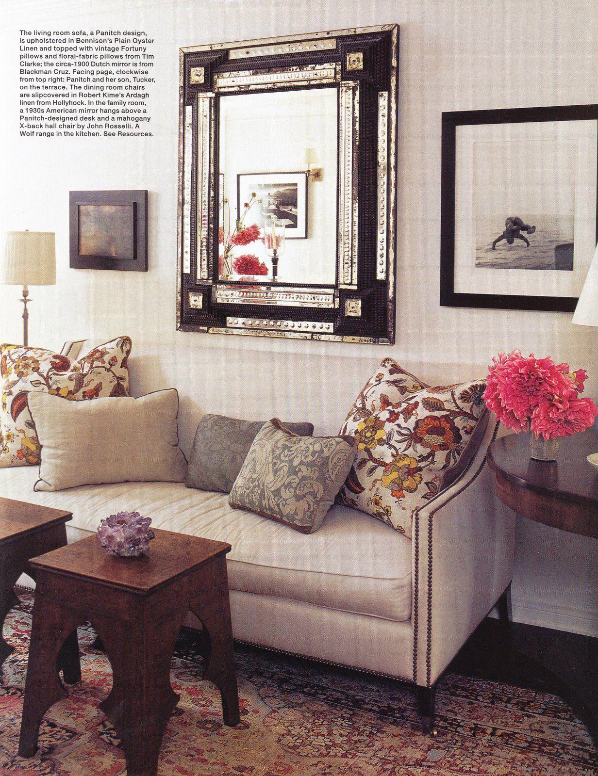 Via Elle Decor Living Room Inspiration Pinterest