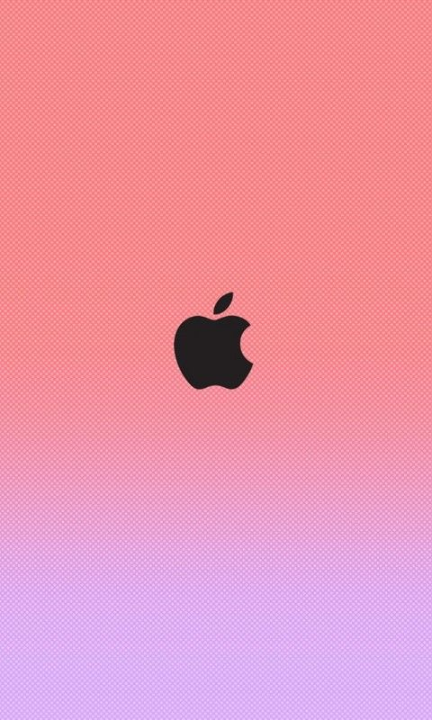 Iphone  Apple Logo Wallpaper Pink Bing Images