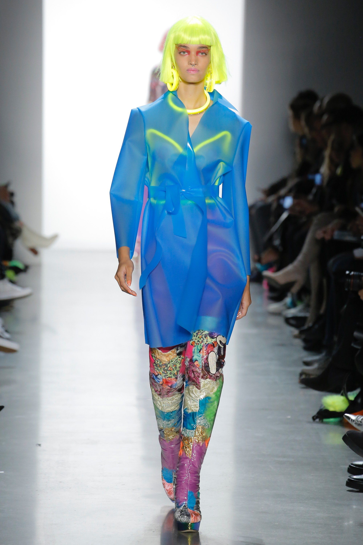 Jeremy Scott Fall 2018 Ready-to-Wear Fashion Show in 2019