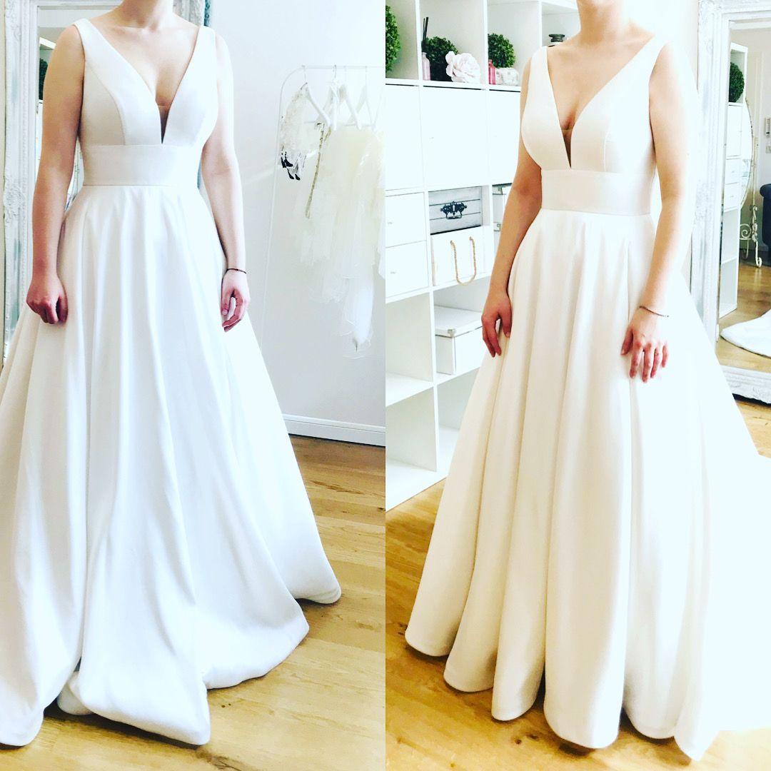 Brautkleidanderung Brautkleid Brautkleid Schlicht Braut