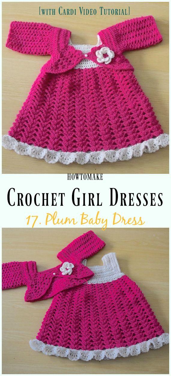 Summer Girl Dress Free Crochet Patterns | Crochet | Pinterest ...