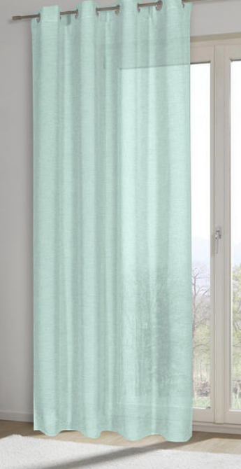 ÖSENVORHANG halbtransparent Schlafzimmer design