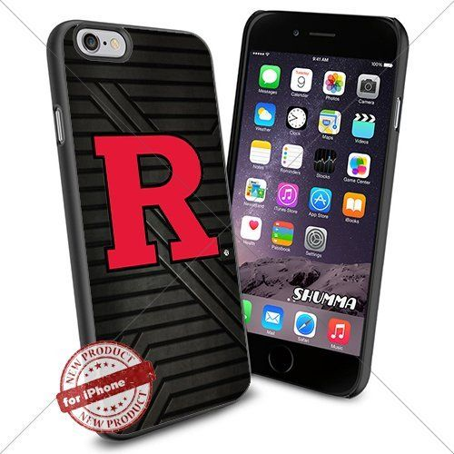 """NCAA-Rutgers Scarlet Knights,iPhone 6 4.7"""" Case Cover Protector for iPhone 6 TPU Rubber Case Black SHUMMA http://www.amazon.com/dp/B013S3XJSU/ref=cm_sw_r_pi_dp_uHKTwb0XJA18M"""