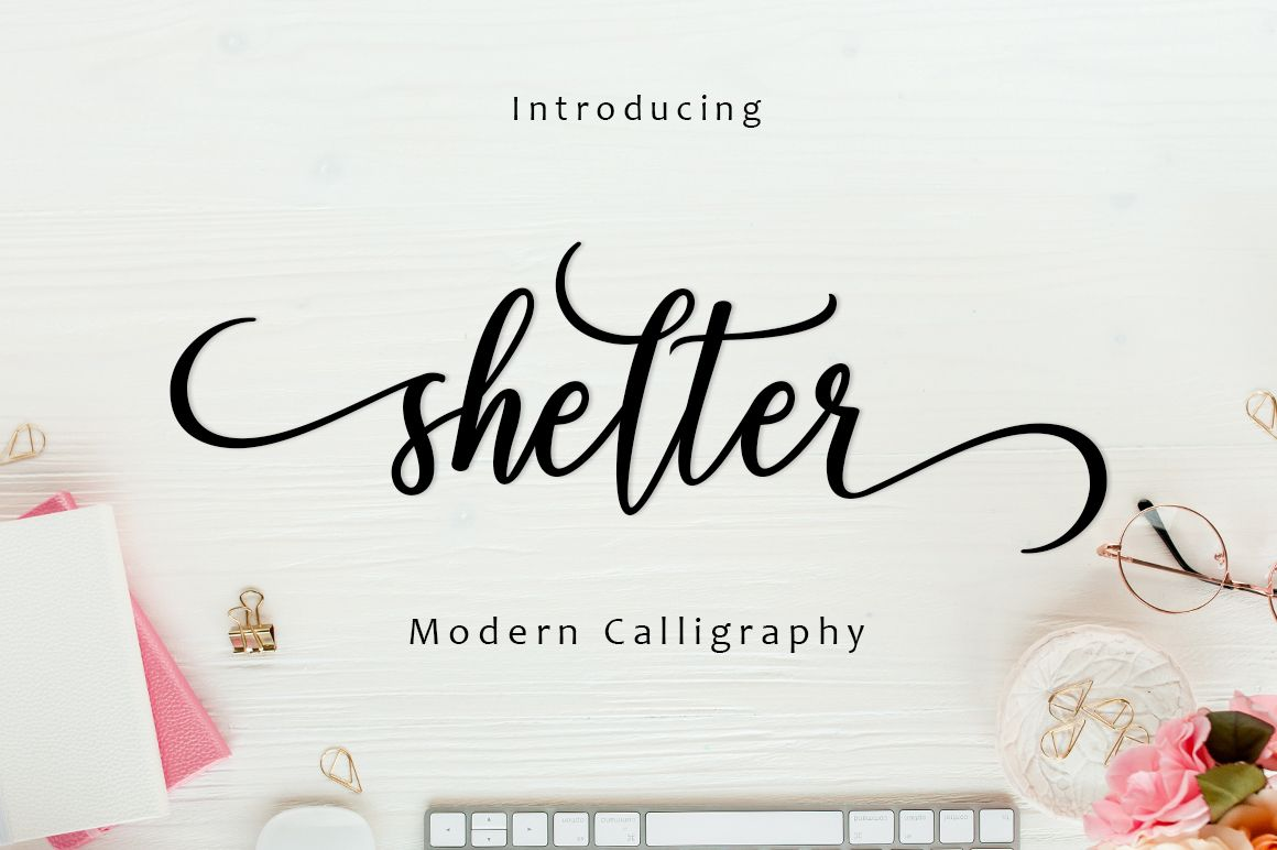 Download Shelter Script (Font) by Amarlettering · Creative Fabrica ...