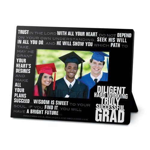 Graduation Photo Frame Stacked Words Collection Graduation photos