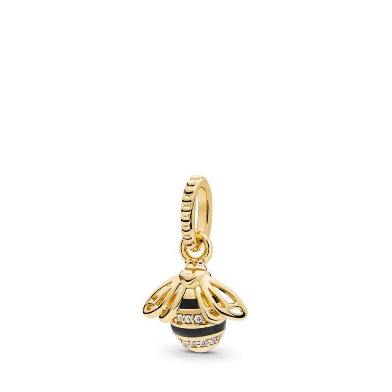 Collier Pandora Coeur,Pendentif Reine des Abeilles PANDORA Shine ...