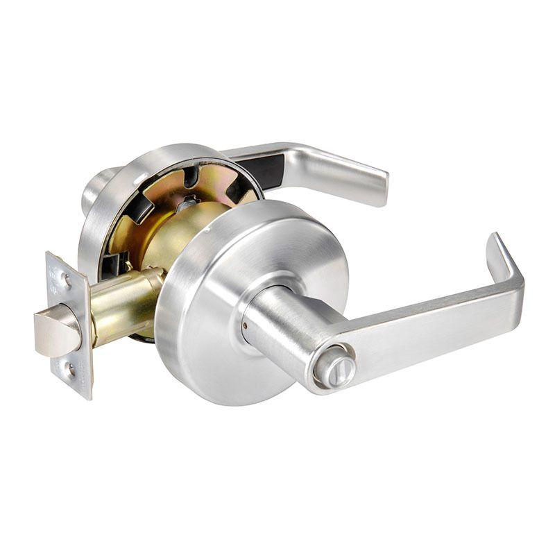 Keyed Random 2 3//4 Backset Cylinder by Cylinder Yale D222 x 626 x 2808 KR 200 Series Deadbolt 6 Pin 626 Satin Chrome Finish Schlage C Keyway