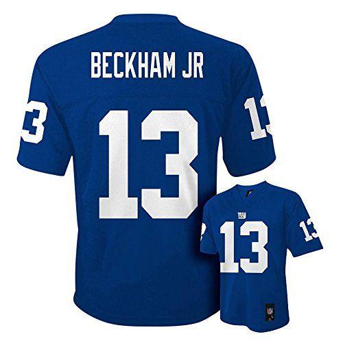 info for b9e87 f40f8 Odell Beckham Jr. New York Giants Blue NFL Toddler 2016-17 ...