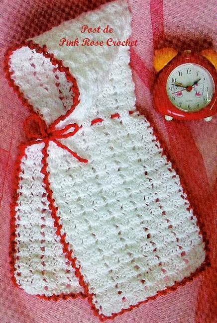 PINK ROSE CROCHET /: Touca Capuz de Crochê para Bebê | Crochê ...