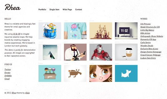 25 top-quality WordPress portfolio themes | Wordpress and Design ...