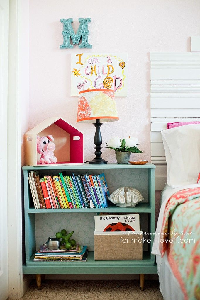 Turn An Old Bookcase Into The Perfect And Taller Nightstand Table Make It Love