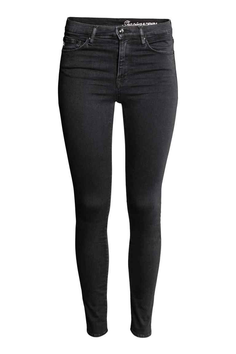 Shaping Skinny Regular Jeans - Zwart - DAMES | H&M NL