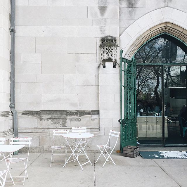 Escape Your Desk On Instagram Bluestone Lane Coffee Upper East Side Warmer Weather Means I Ll Be Parking It Out In Front Of The Shop More Often But Seri