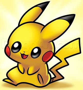 How To Draw Baby Pikachu by Dawn Como dibujar un pokemon
