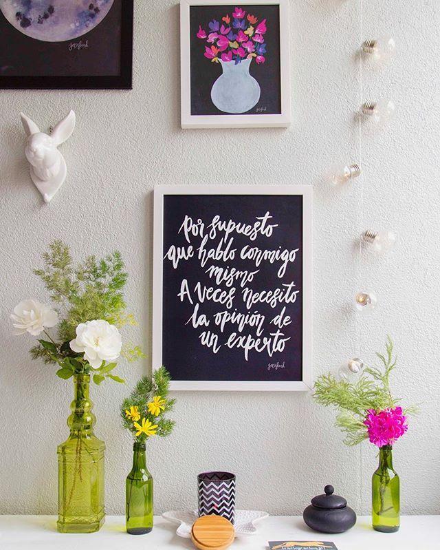 Decorar tu casa con cuadros que destilan personalidad. Disponible en ...