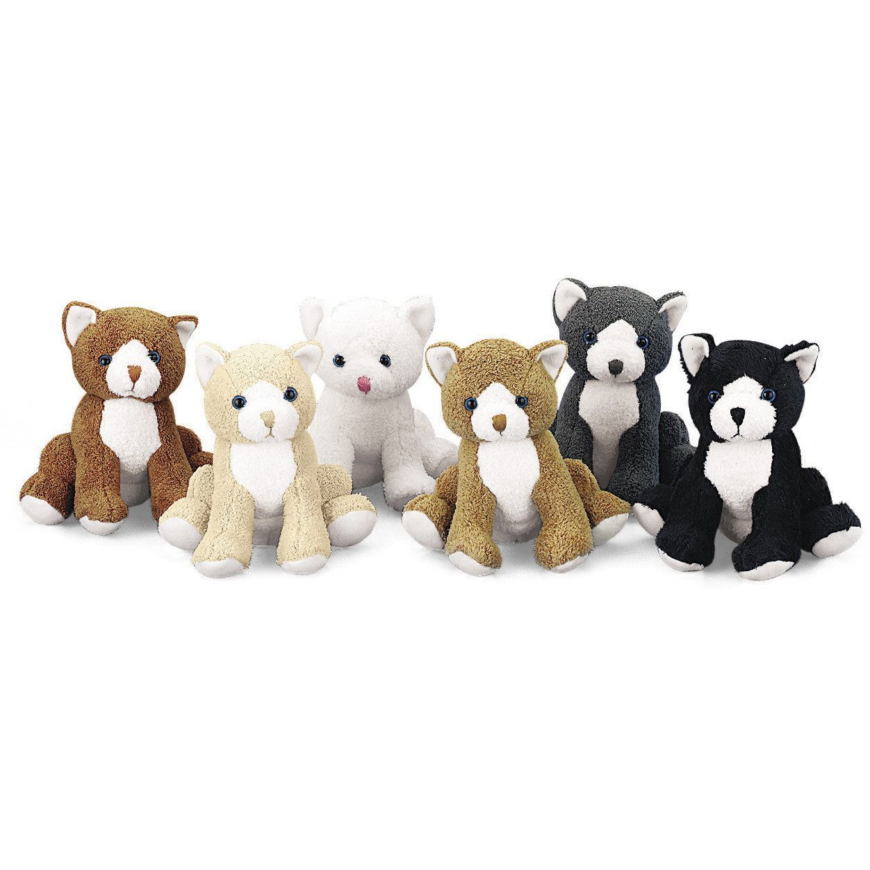 Realistic Plush Cats (12) Cat plush toy, Cat birthday