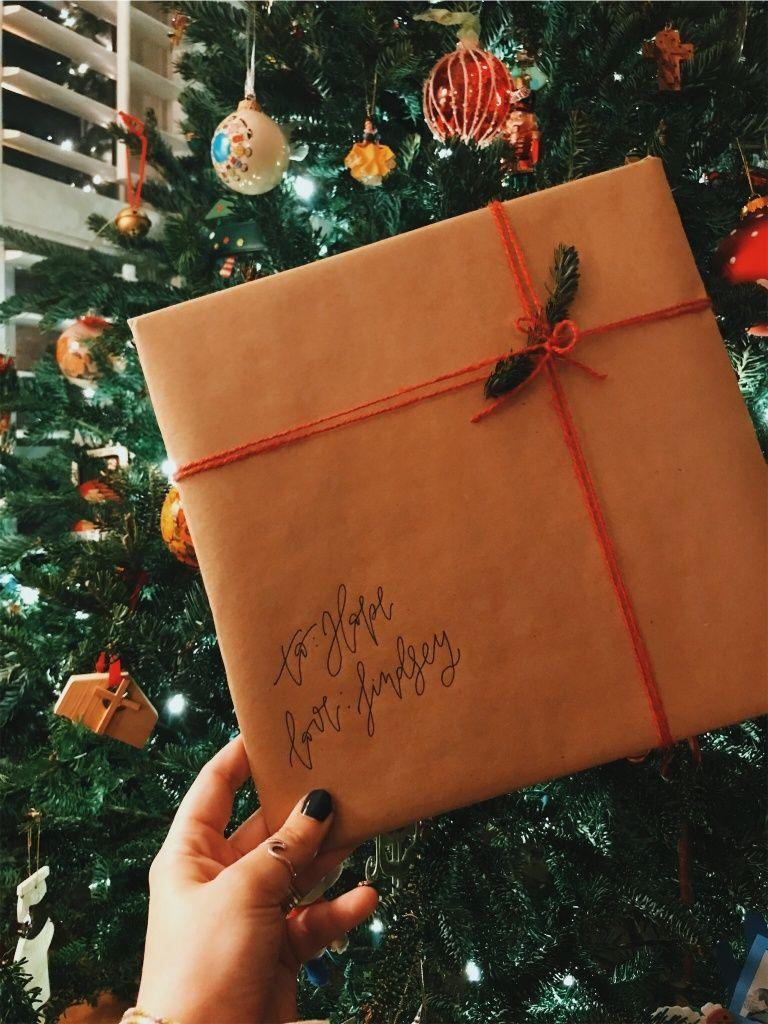 Vsco Lindseygatlin Gifts Christmas Gift Wrapping
