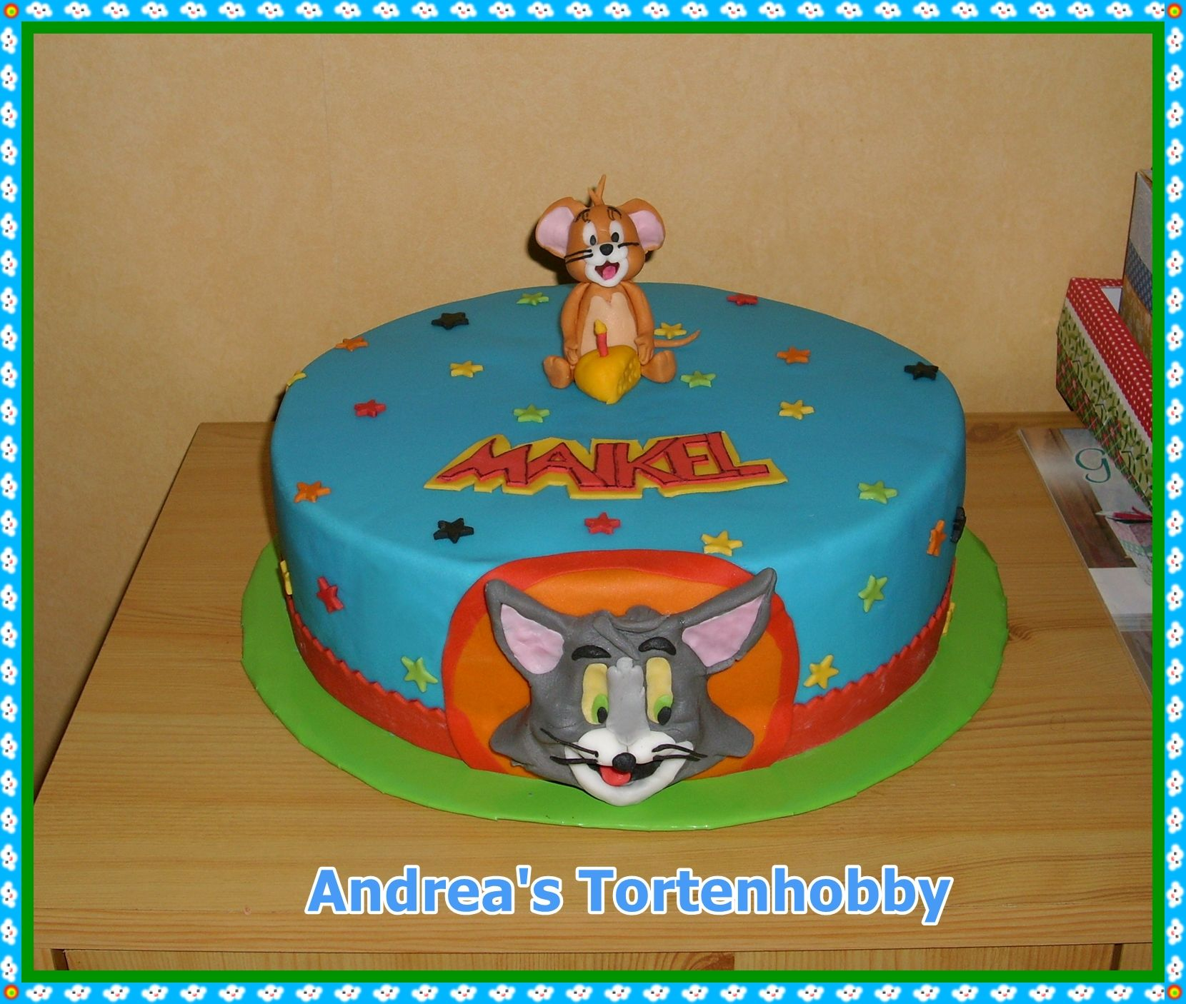 Tom Jerry Cake Meine Torten Pinterest Toms Cake and Jerry o