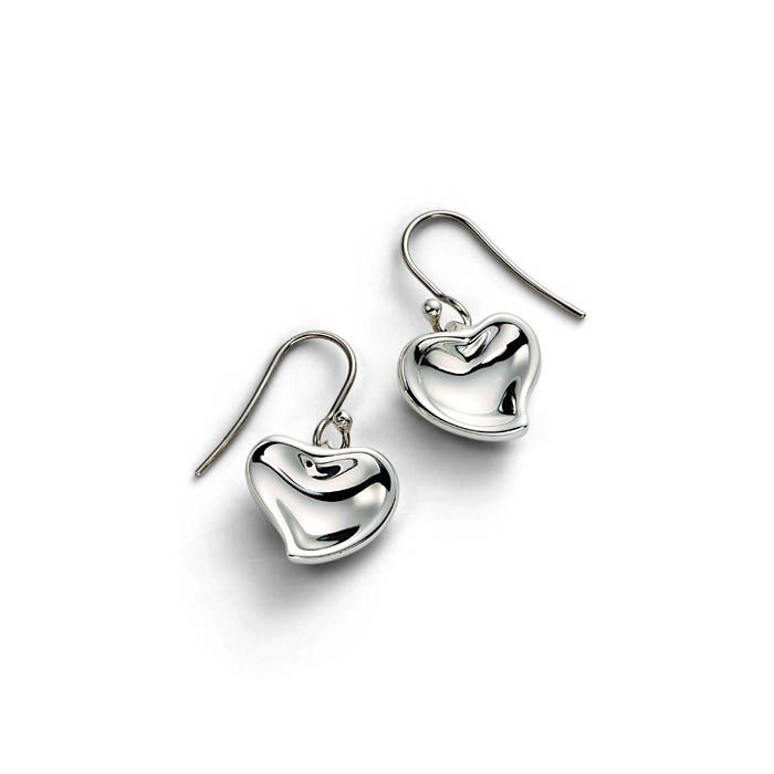 Tiffany And Co Earrings Delicate Heart Shaped Transpa Solid Outlet