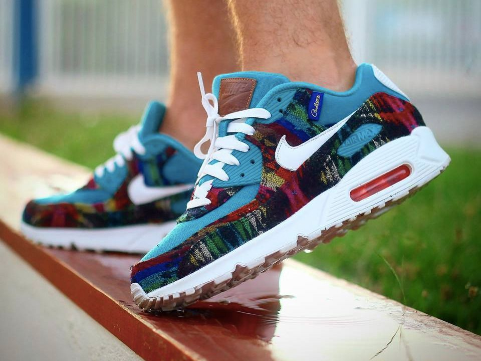 Nike ID Air Max 90 Pendleton (by Yannick Ollivier) https://twitter