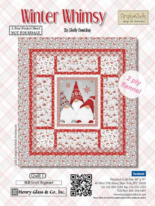 Winter Whimsy Quilt 1 Scandinavian quilts, Quilts
