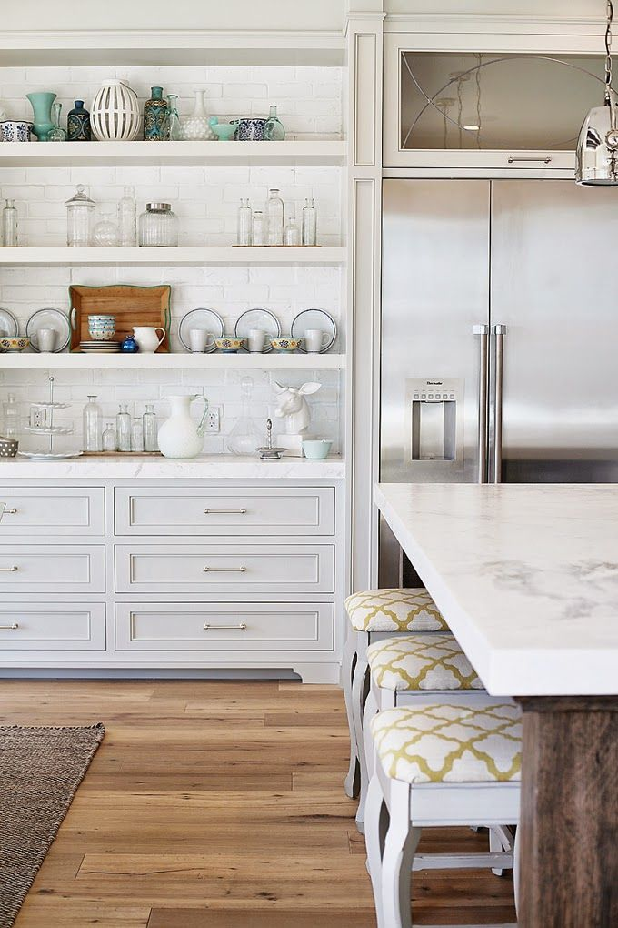 25 Antique White Kitchen Cabinets for Awesome