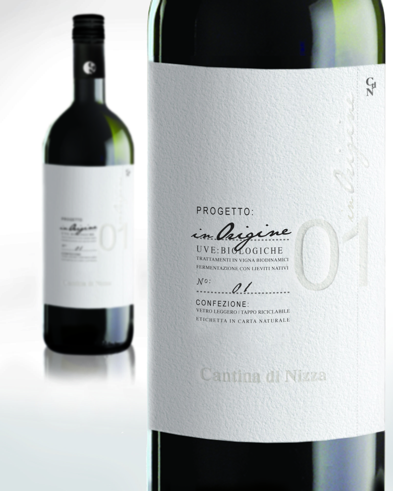 New Label For A Biological Wine Cool Packaging Pinterest Wine