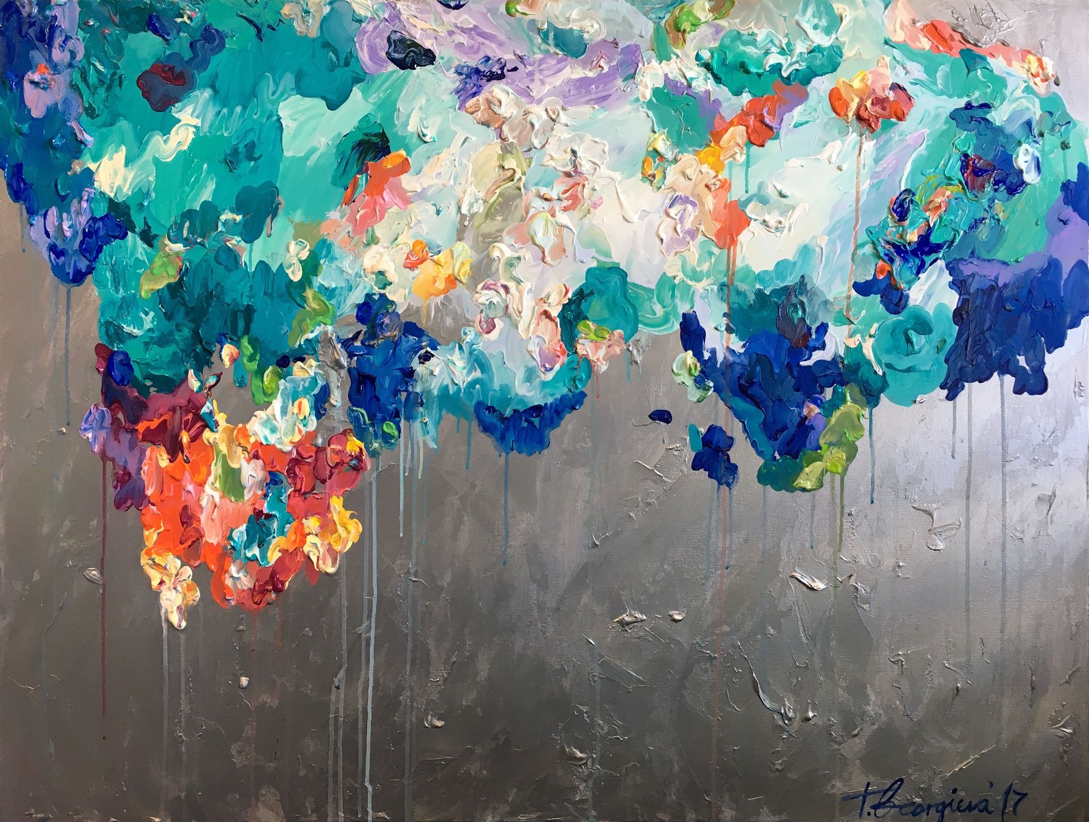 'Donum' - 120x90cm by Tat Georgieva