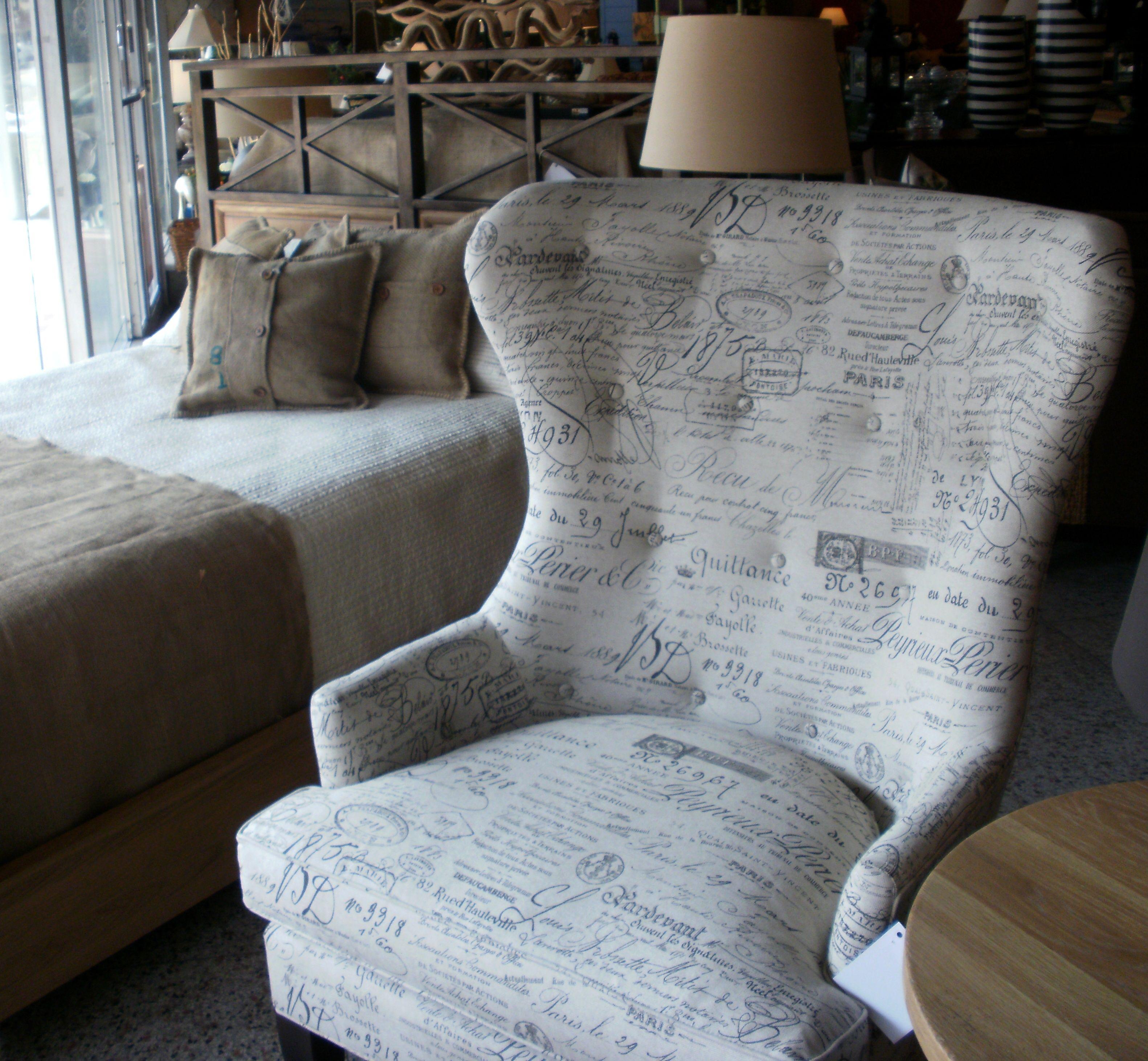 "Accent Chair In Revenge: ""Victoria Grayson's Chair"" Morrissokol.com"