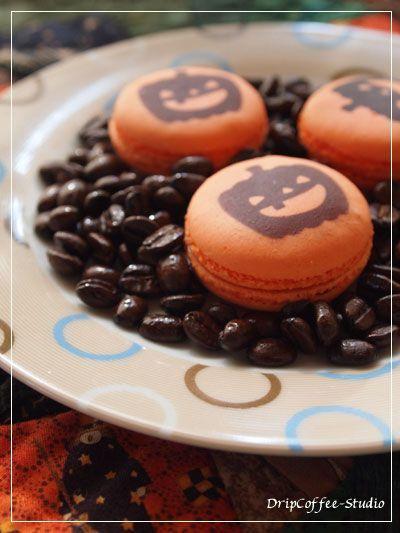macaron #halloweenmacarons macaron #halloweenmacarons
