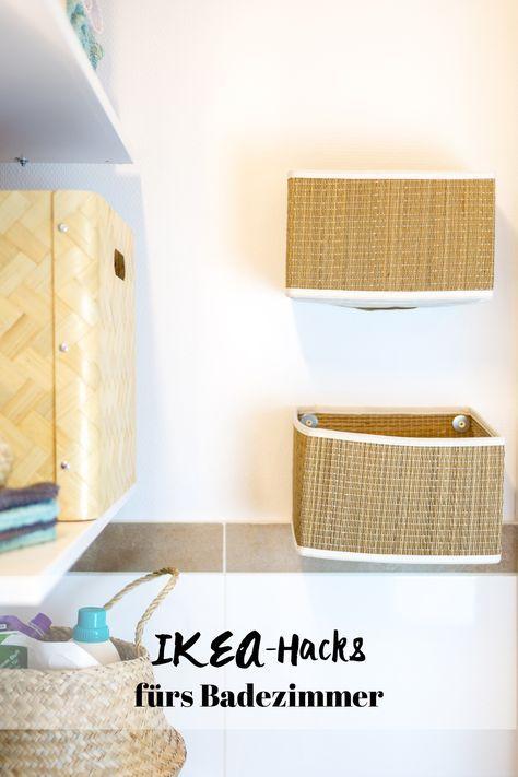 Stauraum für ein kleines Badezimmer u2013 Wir zeigen euch unser neues Bad - körbe für badezimmer