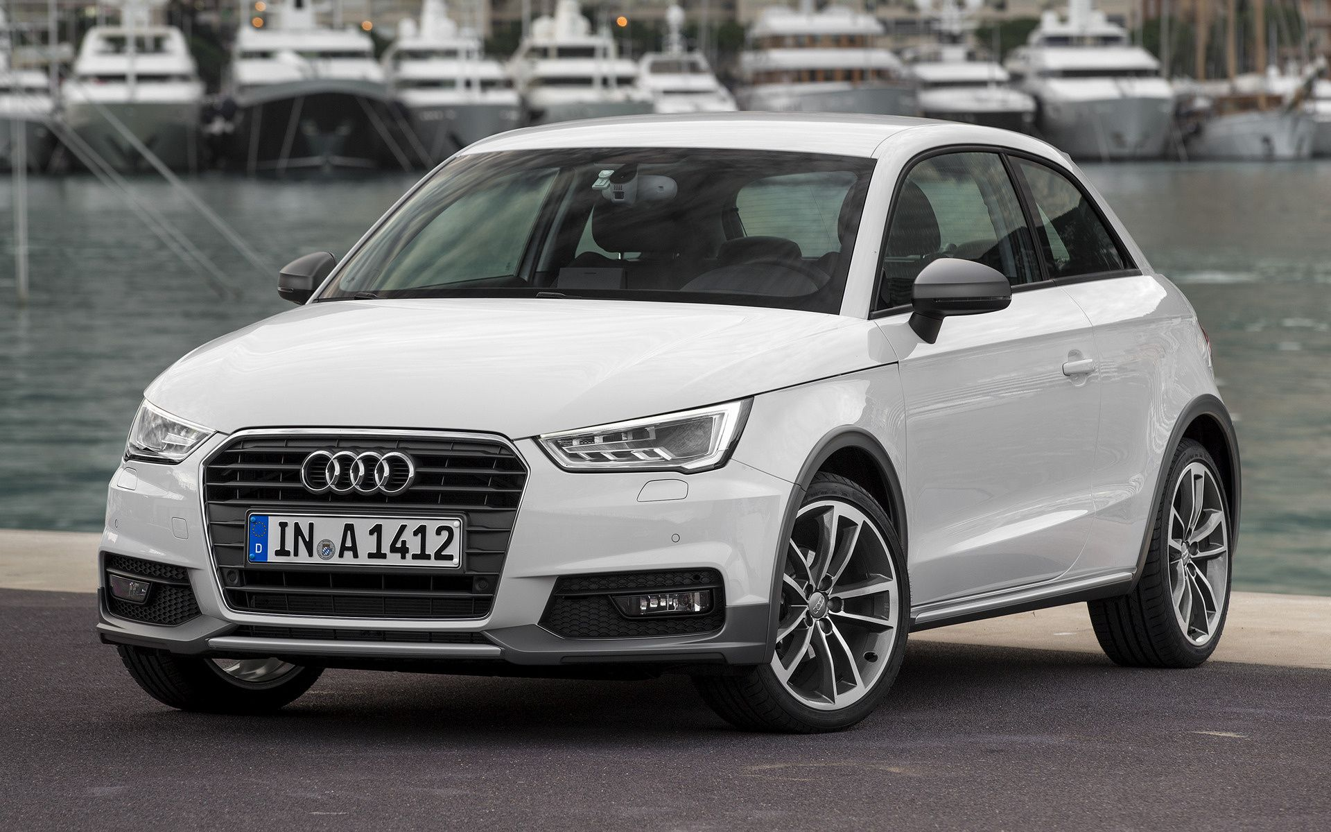 White Audi A Wallpaper Wallpaperplay Audi A1 Audi Car