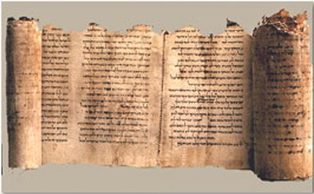 AMAZING DISCOVERIES...from the archives of J.R. Church   The Temple Scroll