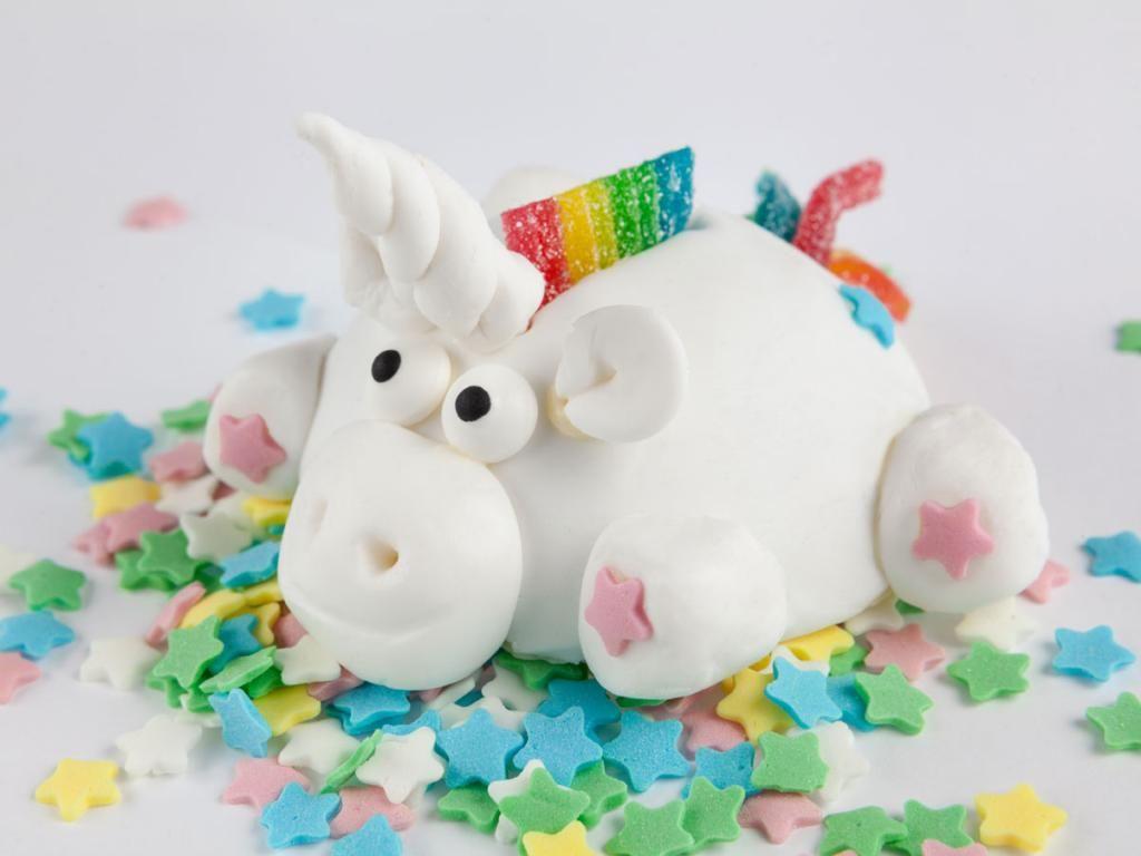 Einhorn Kuchen Rezept In 2018 Angel Cake Pinterest