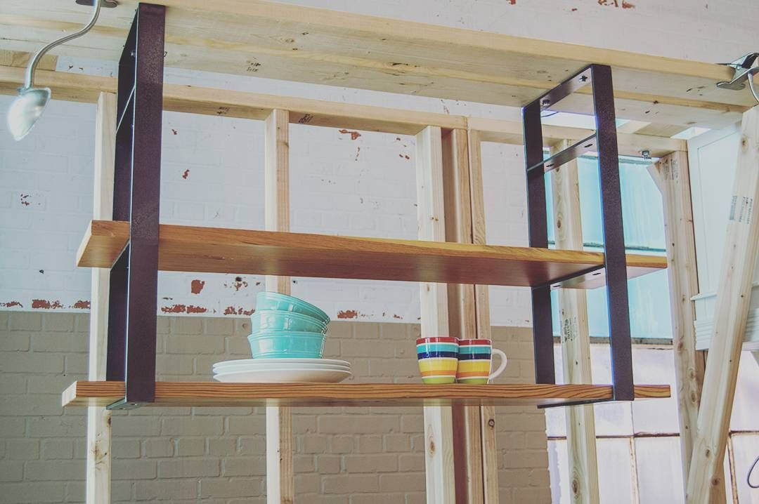 Our Universal Shelf Can Hang From The Ceiling To Complete Your Kitchen Or Living Areas With Beautiful Open Shelving