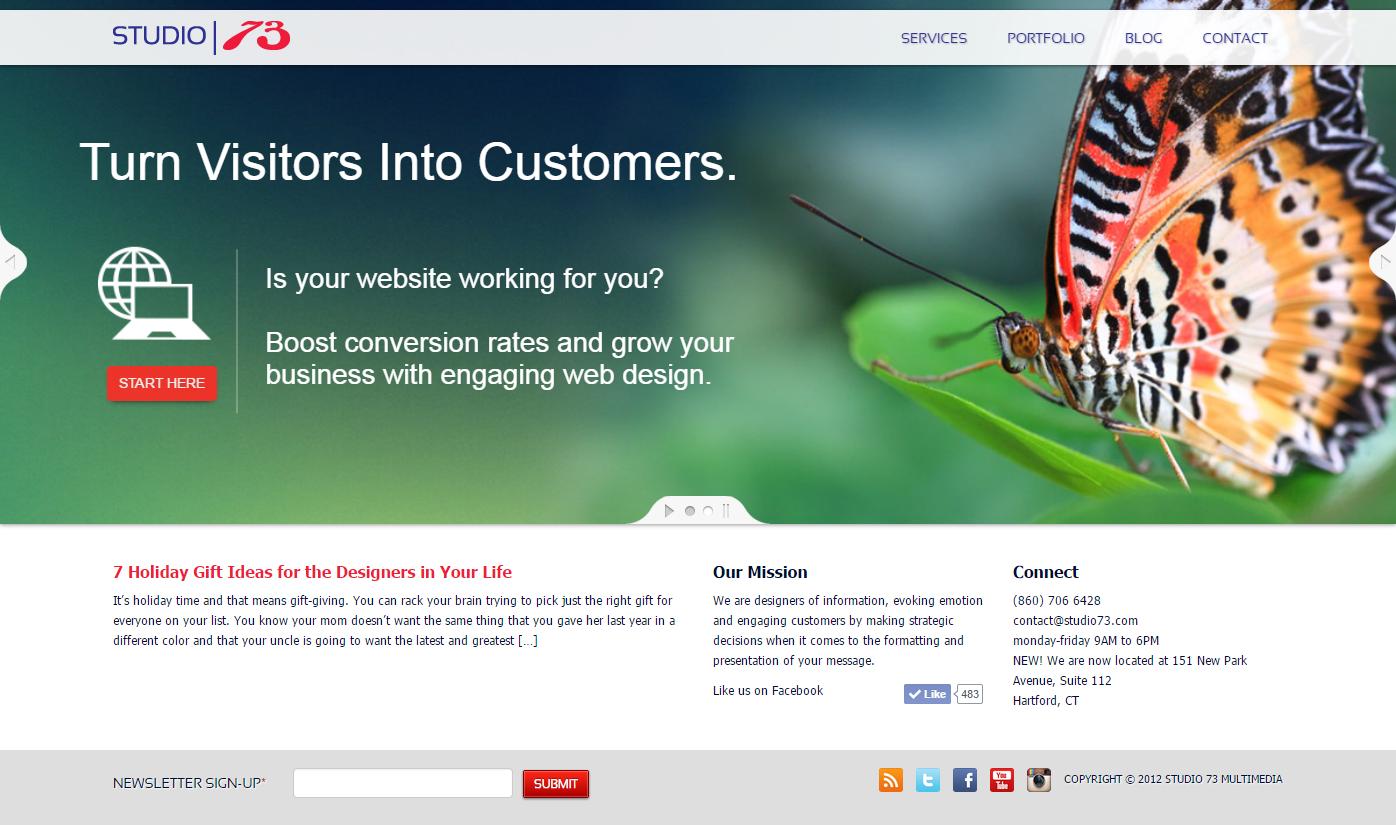 Creative Web Design Ct Creative Web Design Web Design Portfolio Web Design