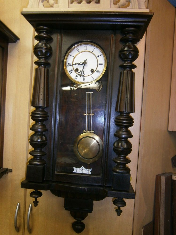 alte uhr regulator in antiquit ten kunst mobiliar interieur uhren ebay uhren. Black Bedroom Furniture Sets. Home Design Ideas