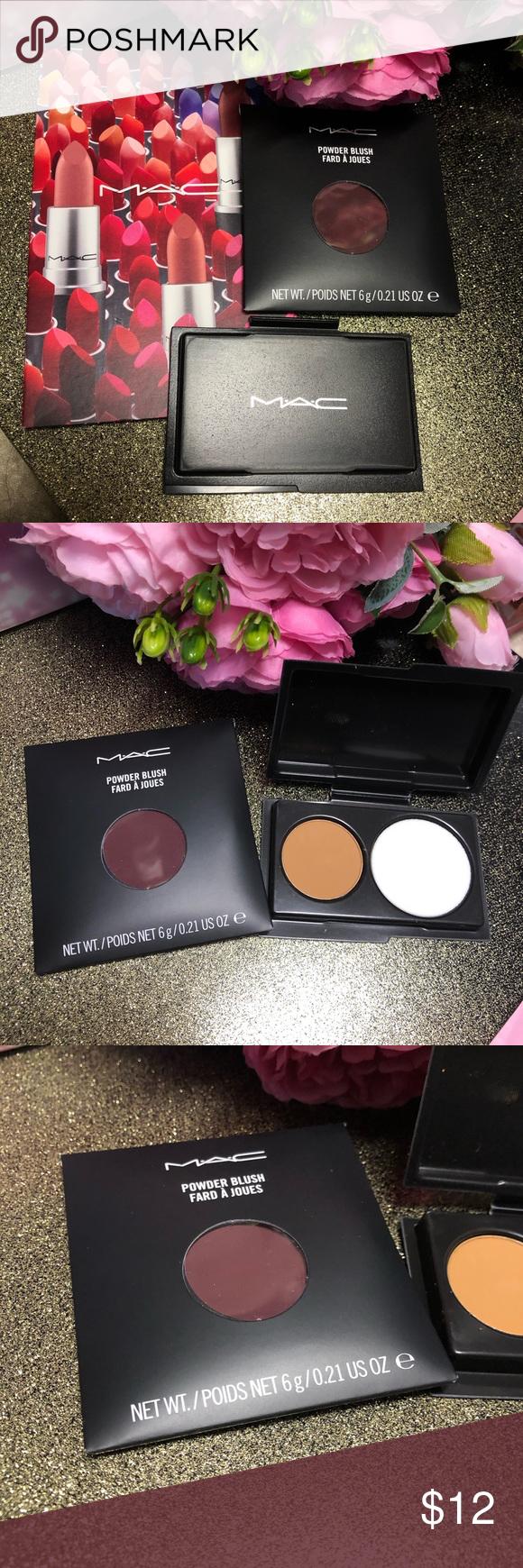 mac cosmetics blushpowderlip sample card bundle  mac
