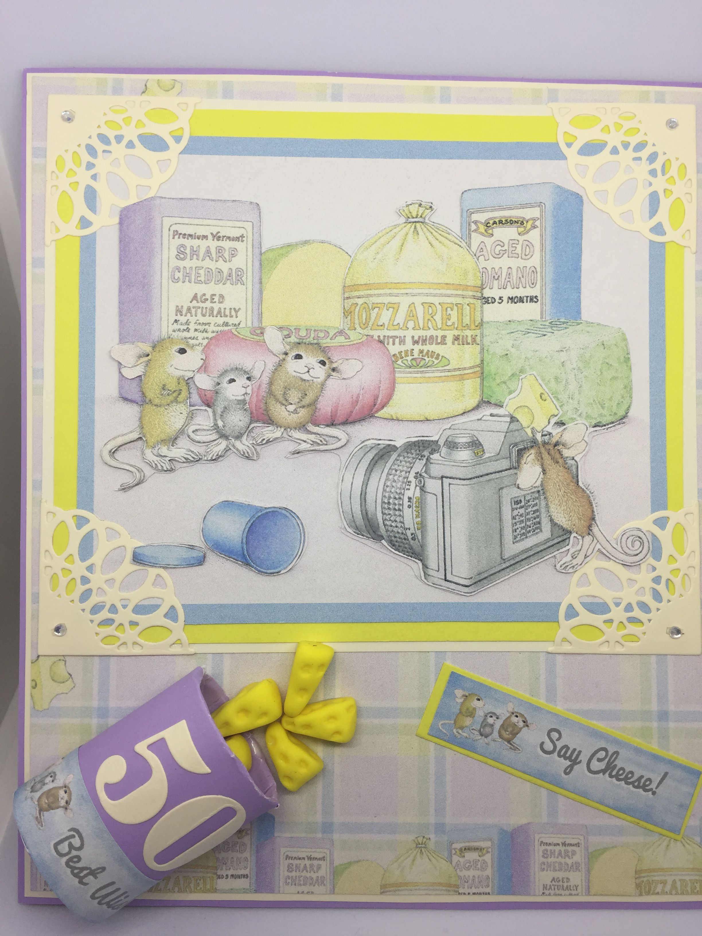 Mouse card for a th birthday my handmade cards and gifts
