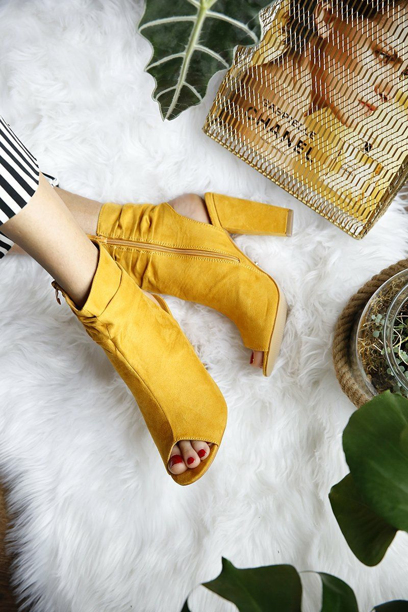 Gelbe Schuhe Kombinieren