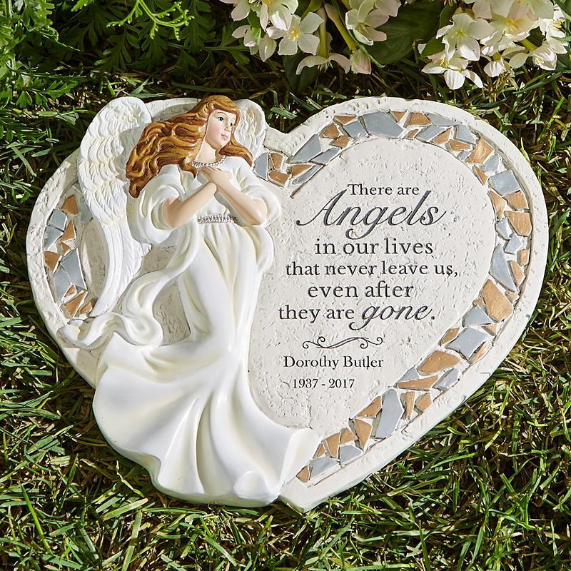 Angel S Path Memorial Garden Stone Memorial Garden Stones