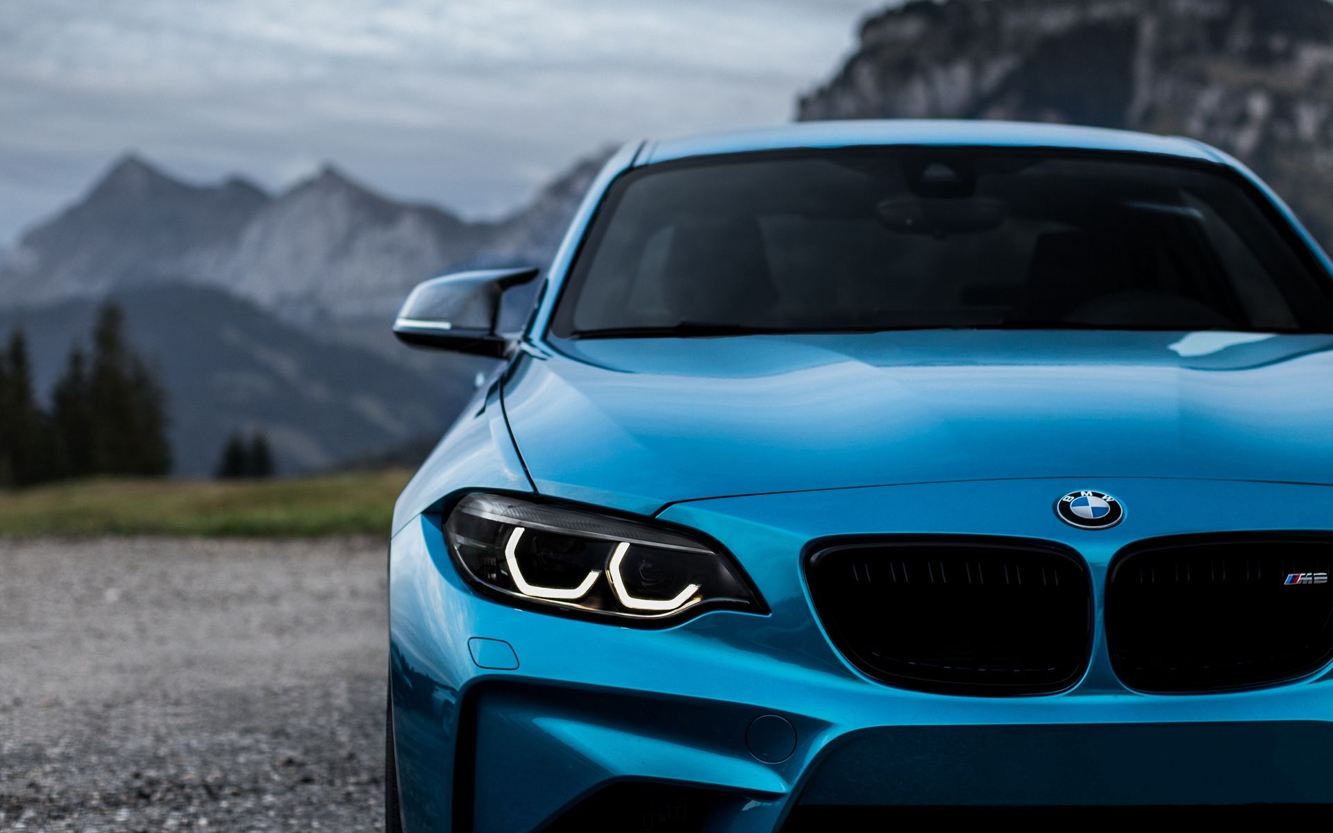 M2 Blue Wallpaper Hd Bmw Wallpapers Bmw Car Backgrounds
