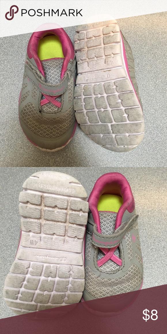 ea02bb23b463 Champion Girls Toddler sneakers 👟 GUC girls toddler shoes Champion Shoes  Sneakers