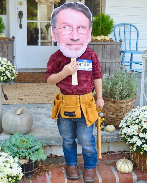 DIY Norm Abram Costume 🔨#ThisOldHouse #nailedit #THESEsafetyglasses